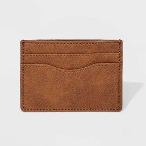 SLIP WALLET BROWN - UNIVERSAL THREAD NEW WITH TAGS